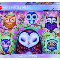 Puslespill 1000 Great Big Owl Heye