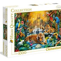 Puslespill 1000 High Color Mystic Tigers Clementon