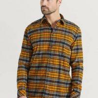 Samsøe Samsøe Skjorte Liam NA shirt 11209 Orange