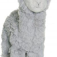 Teddykompaniet Kosedyr Lama 35 cm, Grå