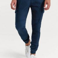 William Baxter Cargobukse Cargo Trousers Blå