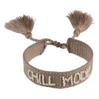 Woven Friendship Bracelet Thin Chill Mode