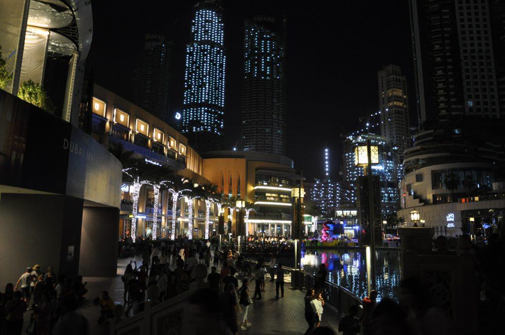 Shopping på Dubai Mal
