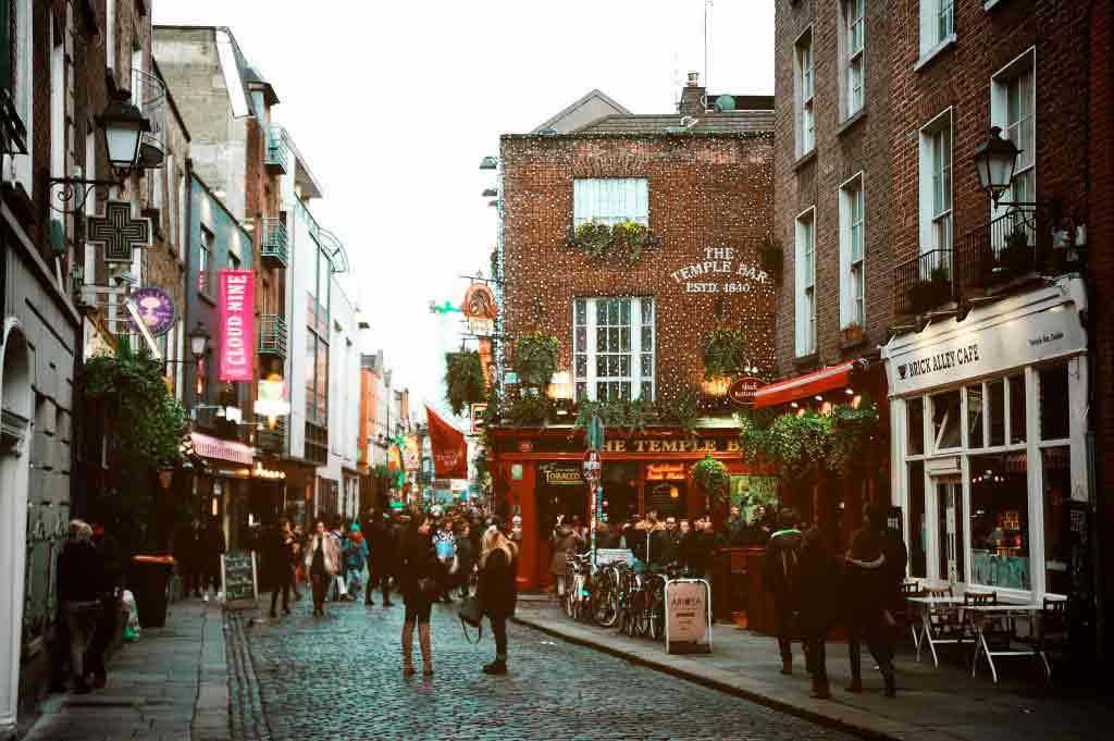 Sentrum av Dublin - Det beste området å bo for utelivet i Dublin