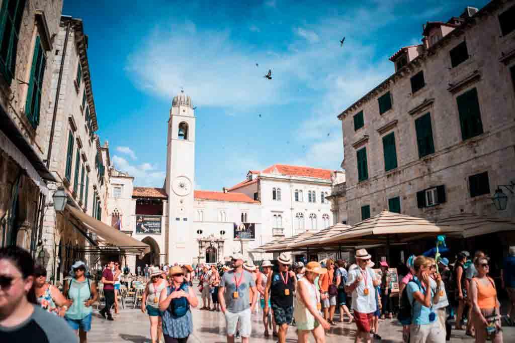 Her bor du i Gamlebyen i Dubrovnik