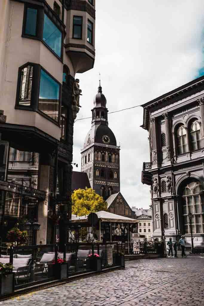 Gamlebyen i Riga - Et av de beste områdene å bo for turister