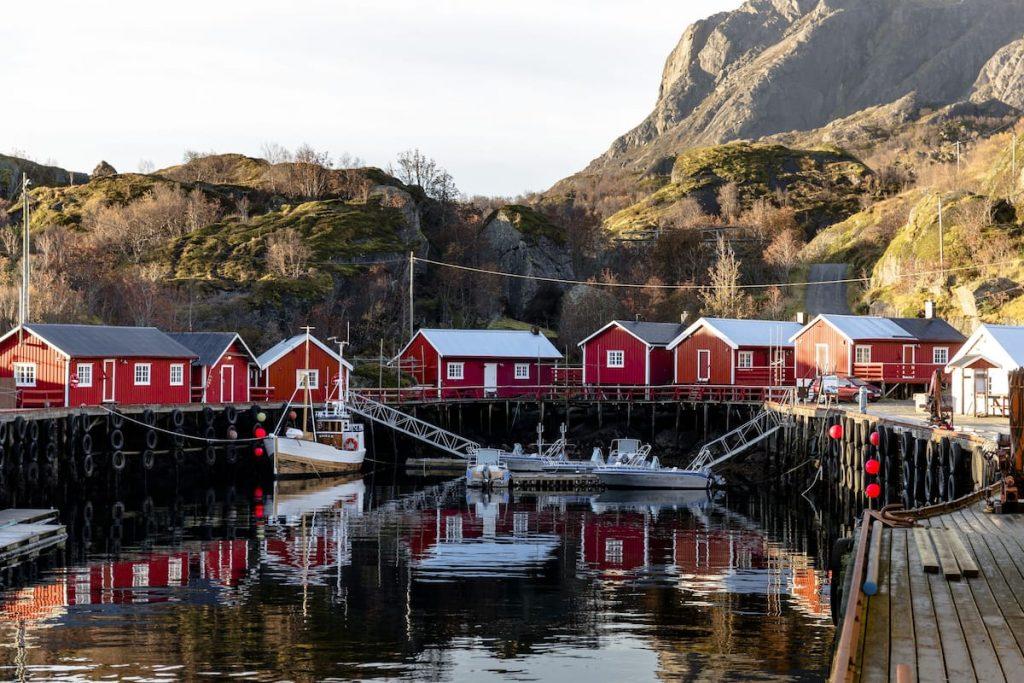Foto: Expedia.no -  Nusfjord Arctic Resort