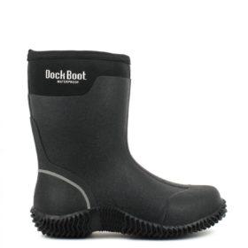 Dock Boot Lista Sort Gummistøvler Herre 36-46