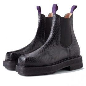 Eytys - Boots Ortega Snake Black - Dame