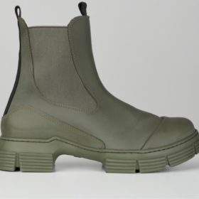 Ganni - Boots Recycled Rubber City - Dame