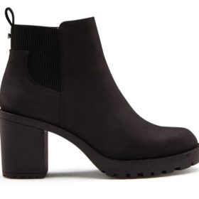 ONLY - Barbara Heeled Bootie Black - Dame