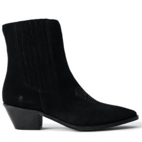 Zadig & Voltaire - Ankle Boot Tyler Elastic Suede - Dame