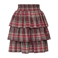 Eliza Check Skirt