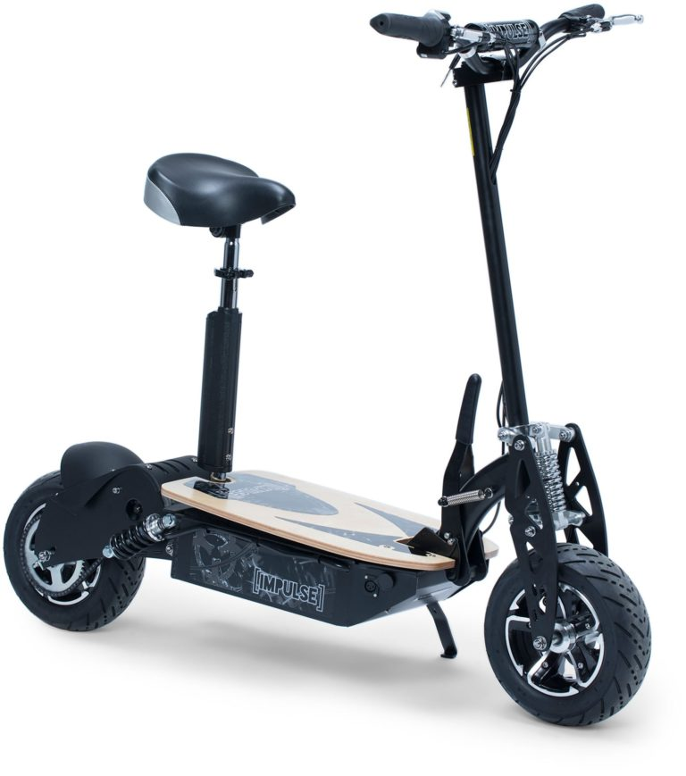 Impulse Electric Scooter 2000 W, Svart