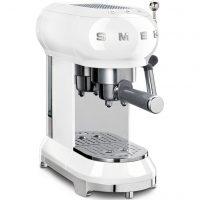 Smeg ECF01WHEU Retro 50'Tallet Espressomaskin, Hvit