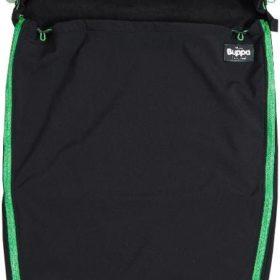 The Buppa Brand Softshell Vognpose, Black Green