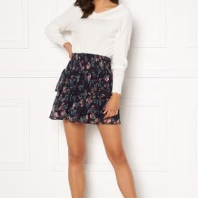 VERO MODA Wonda Smock Short Skirt Night Sky AOP L