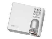 ASUS P3B - DLP-projektor - RGB LED - 3D - 800 lumen - WXGA (1280 x 800) - 16:10 - ultrakortkast fast linse - Wi-Fi