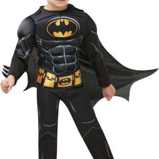 Batman Kostyme Deluxe 9-10 år