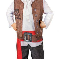 Cloudberry Castle Kostyme Piratkapten 4-6 År