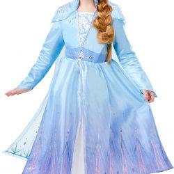 Disney Frozen Kostyme Elsa Deluxe 3-4 år