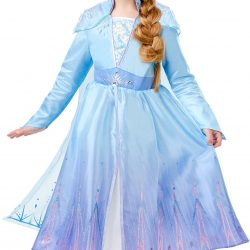 Disney Frozen Kostyme Elsa Deluxe 5-6 år