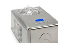 Domo DO9066I, Kompressor-iskremmaskin, 1,5 l, 60 min, 1 boller, -18 - -35 °C, Rustfritt stål