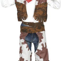 Fiestas Guirca Kostyme Cowboy 7-9 År
