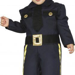 Fiestas Guirca Kostyme Politi