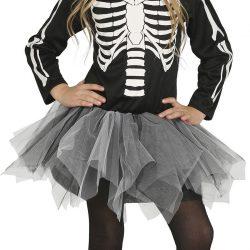 Fiestas Guirca Kostyme Skjelett Jente 5-6 år