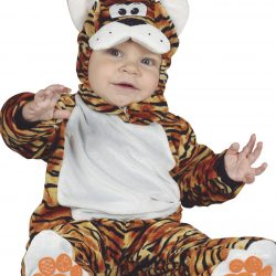 Fiestas Guirca Kostyme Tiger, Brun