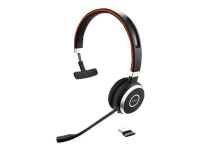 Jabra Evolve 65 UC mono - Hodesett - on-ear - konvertibel - Bluetooth - trådløs - NFC - USB