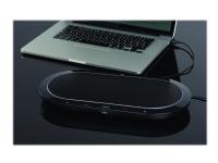 Jabra SPEAK 810 UC - VoIP stasjonær høyttalende telefon - Bluetooth - trådløs - NFC - USB, 3,5 mm jakk