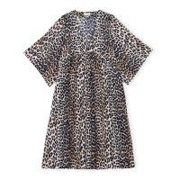 Leopard Silk Kjoler