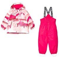 Reima Reimatec Winter Set Ruis Raspberry Pink 80 cm (9-12 mnd)