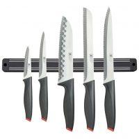 Richardson Sheffield Kjøkkenknivsett 5 deler Laser med magnetstativ