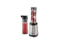 Russell Hobbs Mix&Go, Bord juicepresse, 0,6 l, Isknusing, 300 W, Svart, Sølv