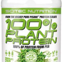Scitec 100% Plant Protein Vanilla/Banan- Erteprotein - 900g