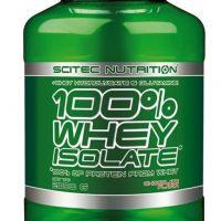 Scitec 100% Whey Isolate - 2000g - Proteinpulver
