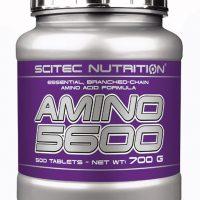 Scitec Amino 5600 - 500 kapsler - Aminosyrer