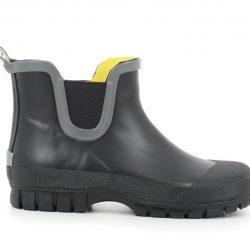 Sinoken Rubber Boots Black Støvler Barn 30-37
