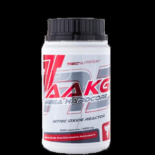 Trec AAKG Mega Hardcore - 240 kapsler