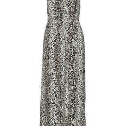Truly mine Leopardmønstret langkjole Justine Leopard