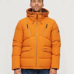 Áhkká Dunjacka Down Jacket Short M Orange