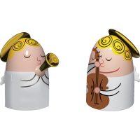 Alessi Porselensfigurer Engler 2 stk