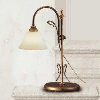Bordlampe Antonio med antikt utseende