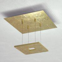 Escale Zen – taklampe i bladgull med LED