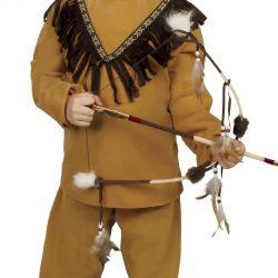 Fiestas Guirca Kostyme Indianer 7-9 År