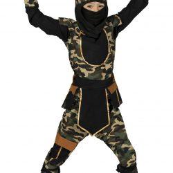 Fiestas Guirca Kostyme Ninja Kummando