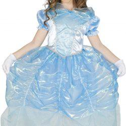 Fiestas Guirca Kostyme Svaneprinsesse 7-9 År